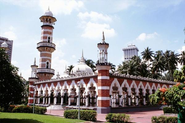 مسجد جامیک کوالالامپور مالزی