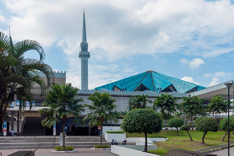 مسجد نگارا 1 - مراکز تفریحی مالزی (کاملترین به زبان فارسی)