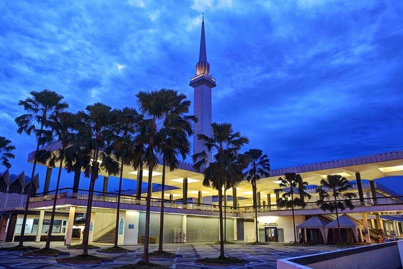 مسجد نگارا 4 - مراکز تفریحی مالزی (کاملترین به زبان فارسی)