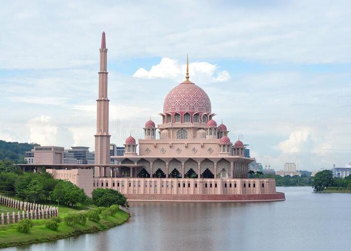مسجد پوترا 1 - مراکز تفریحی مالزی (کاملترین به زبان فارسی)