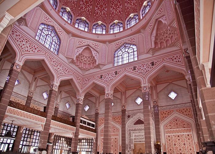 مسجد پوترا 2 - مراکز تفریحی مالزی (کاملترین به زبان فارسی)