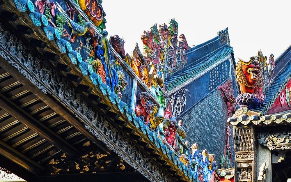 معبد اجدادی خاندان چن 1 - معبد اجدادی خاندان چن گوانجو چین
