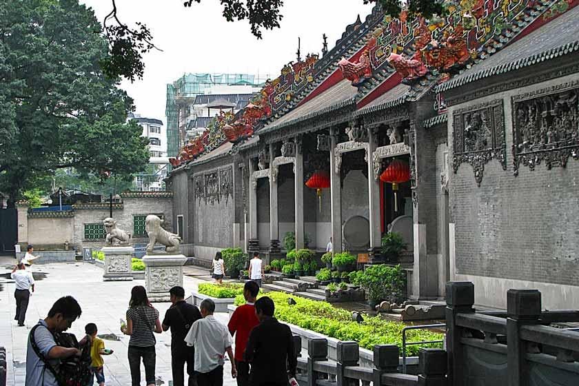 معبد اجدادی خاندان چن 2 - معبد اجدادی خاندان چن گوانجو چین