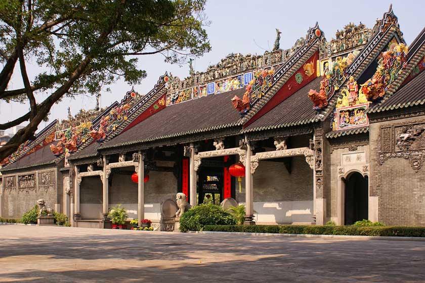 معبد اجدادی خاندان چن 3 - معبد اجدادی خاندان چن گوانجو چین