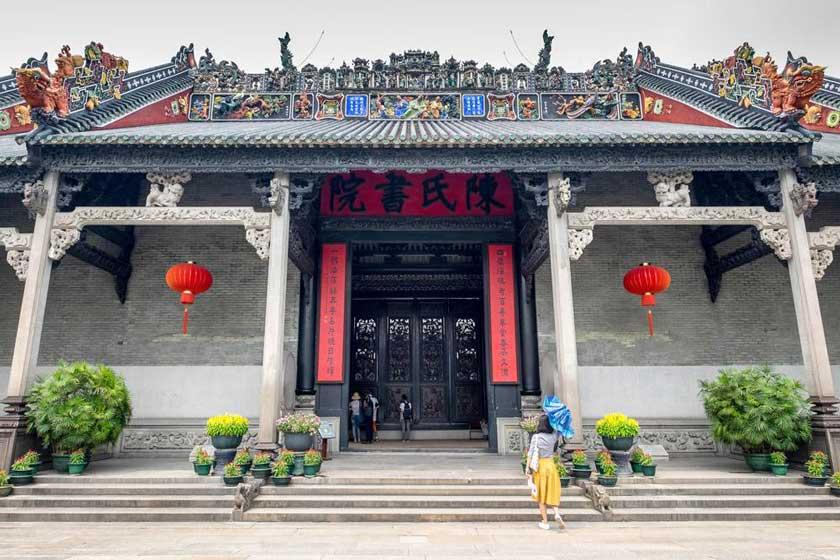معبد اجدادی خاندان چن 4 - معبد اجدادی خاندان چن گوانجو چین