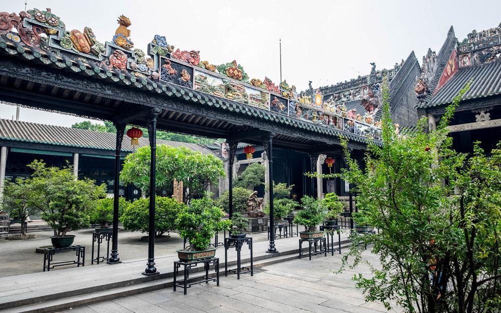 معبد اجدادی خاندان چن 5 - معبد اجدادی خاندان چن گوانجو چین