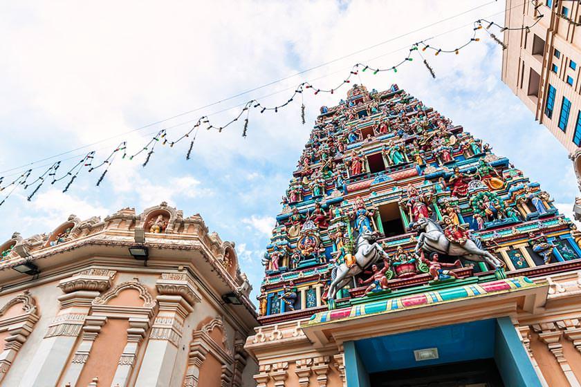 معبد سری ماهاماریمان 2 - معبد سری ماهاماریمان کوالالامپور مالزی
