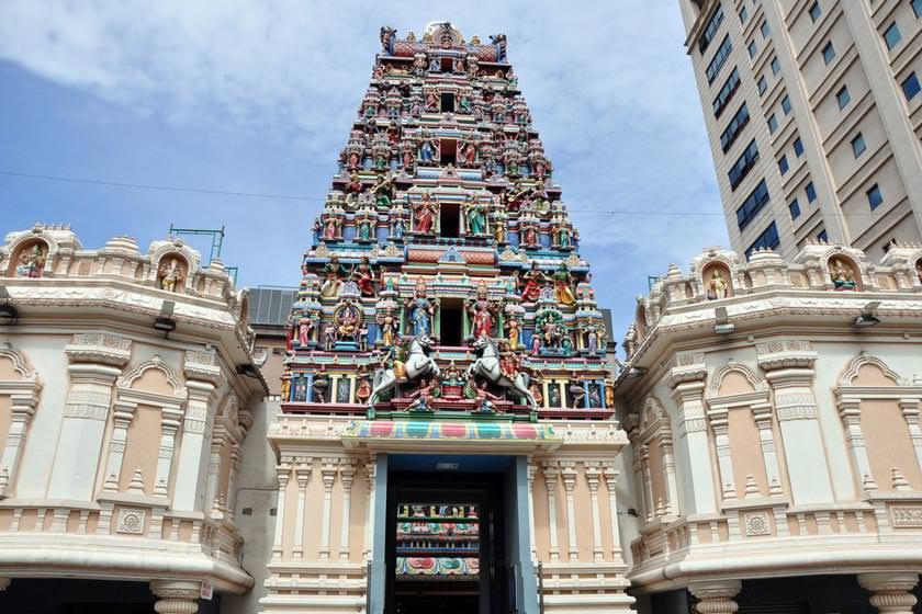 معبد سری ماهاماریمان کوالالامپور مالزی
