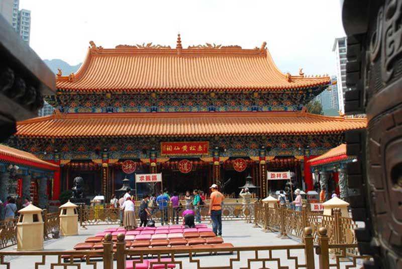 معبد وونگ تای سین هنگ کنگ 3 - معبد وونگ تای سین هنگ کنگ چین