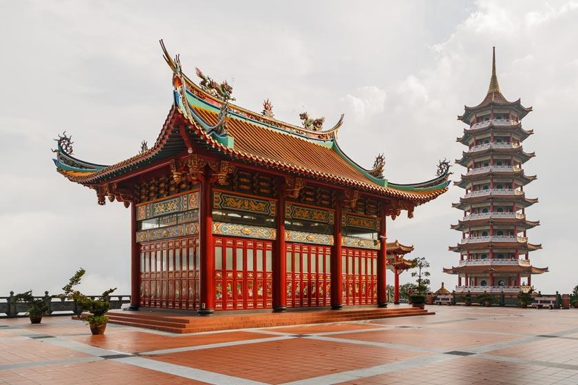 معبد چین سویی کیو 3 - معبد چین سویی کیو کوالالامپور مالزی