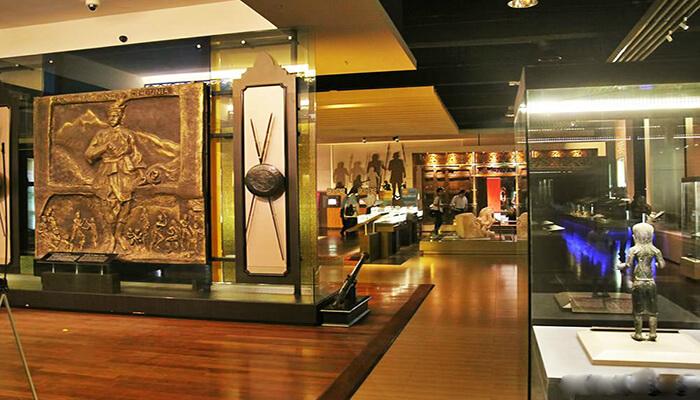 موزه ملی مالزی 4 - مراکز تفریحی مالزی (کاملترین به زبان فارسی)