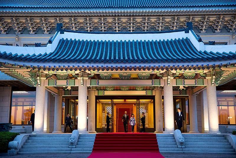 کاخ آبی 1 - کاخ آبی سئول کره جنوبی