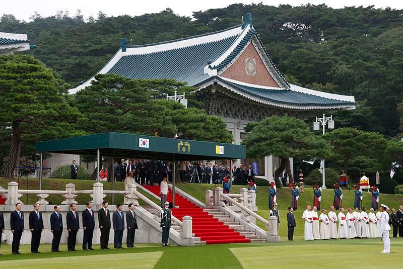 کاخ آبی 3 - کاخ آبی سئول کره جنوبی