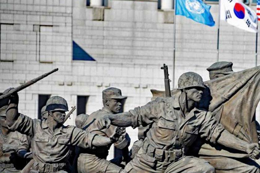 یادبود جنگ کره 1 - یادبود جنگ کره سئول