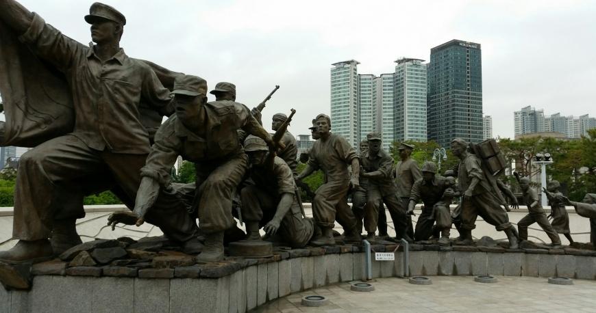 یادبود جنگ کره 2 - یادبود جنگ کره سئول