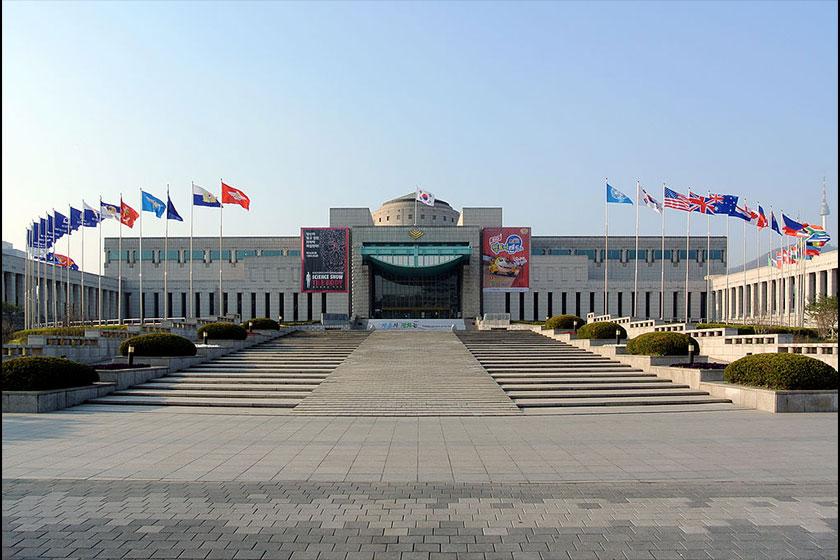 یادبود جنگ کره 4 - یادبود جنگ کره سئول