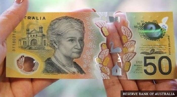 اشتباه اسکناس استرالیا - اشتباه تایپی روی اسکناسهای جدید ۵۰ دلاری استرالیا