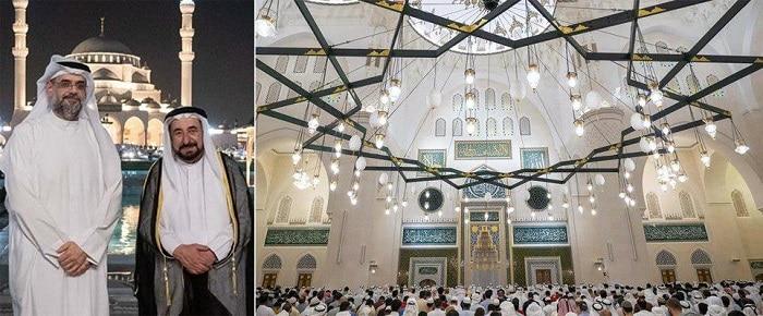 بزرگترین مسجد شارجه - افتتاح بزرگترین مسجد امارات متحده عربی در شارجه