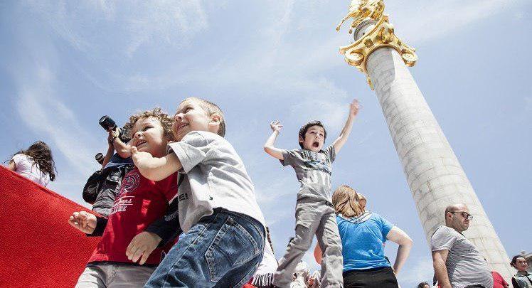 سرود ملی - سرود ملی گرجستان در ميادين، قطار ها و اتوبوس ها  روز ٢٦ مِى پخش خواهد شد
