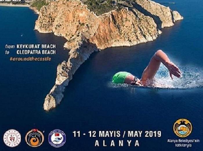 مسابقه شنا آلانیا 1 - بزرگترین مسابقه شنا در دریا در آلانیا 2019