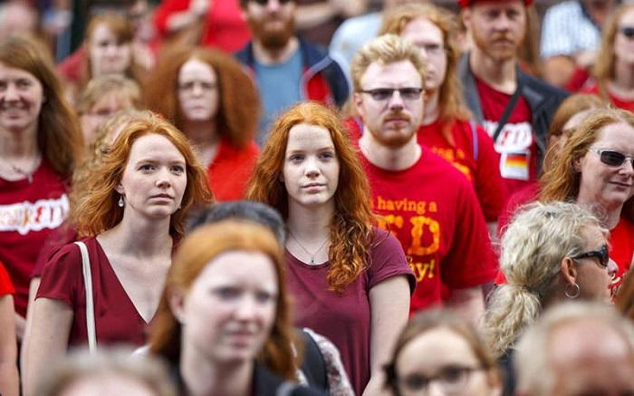 مو قرمزها هلند - فستیوال مو قرمزها در هلند 2019